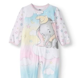 24 month baby dumbo footie pajamas